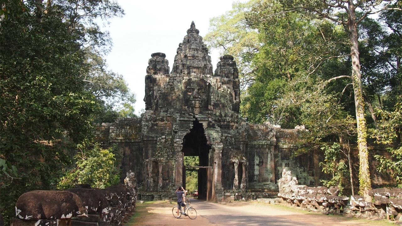 Circuit Angkor ballade vélo
