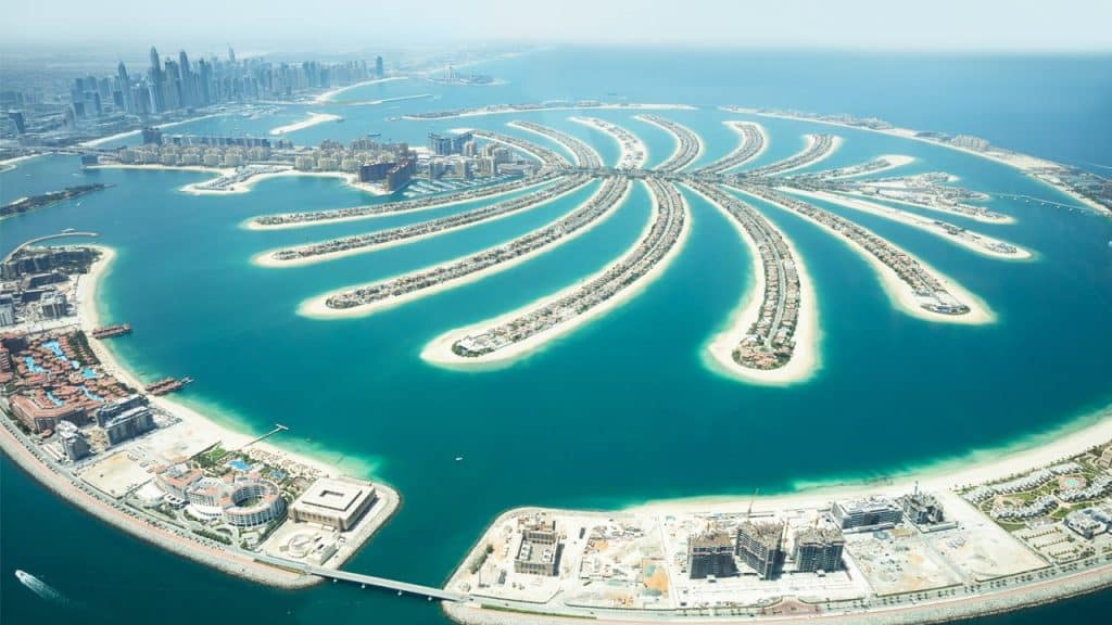 Circuit Emirats arabes pal island