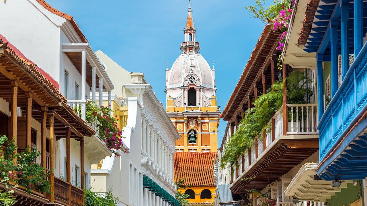 Voyage Carthagene Colombie