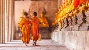 Voyage temple Thaïlande famille