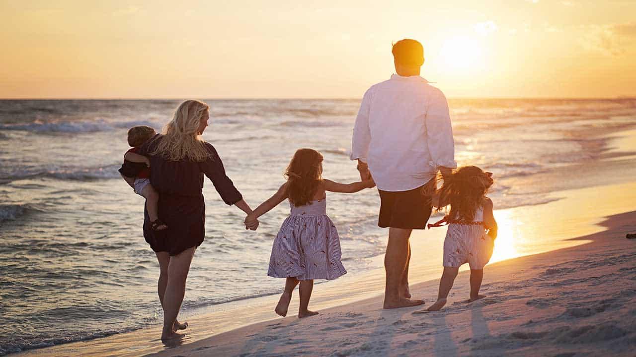 Idées de destinations adaptées aux familles de 5