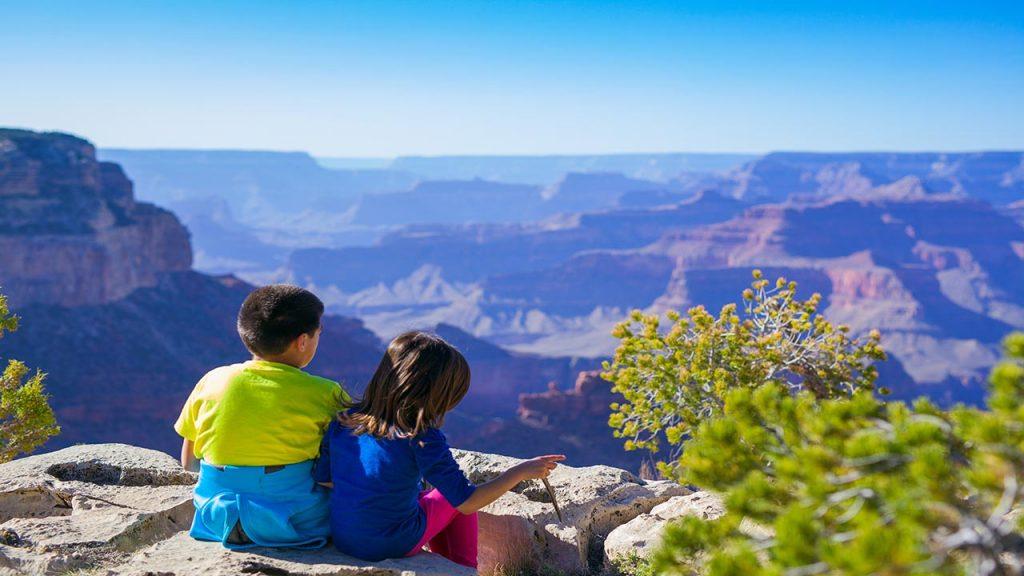 Visiter l'ouest américain en famille