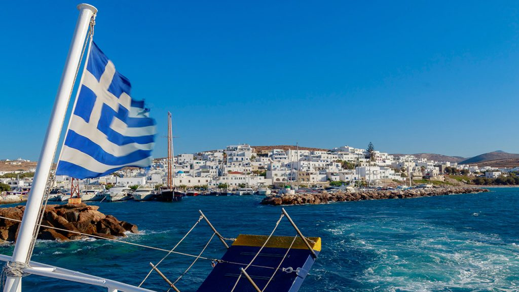 voyage Grèce avec des enfants