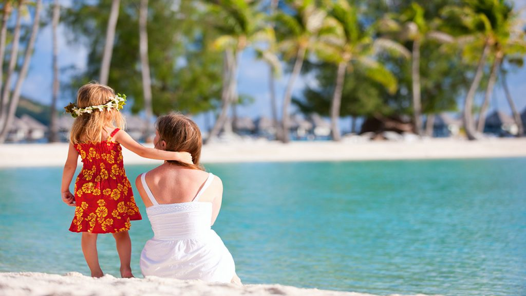 visiter la Polynésie en famille